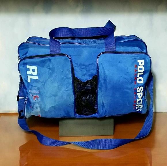 Vintage 1997 Polo Sport Duffle Bag. M 5a8f25492ab8c5d0f631694a 4f06bb41fa1cb